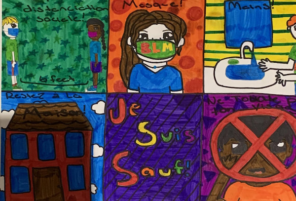 DCPS Cornerstones features student work from grades 6-8 across the city, including videos, songs, public service announcements, time capsules and illustrations. (DCPS photo)
