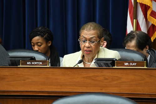 **FILE** Eleanor Holmes Norton (Roy Lewis/The Washington Informer)