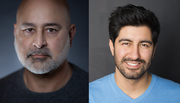 "Ramsey Faragallah (left) and Yousof Sultani will star in ""This is Who I Am"" at the Woolly Mammoth."