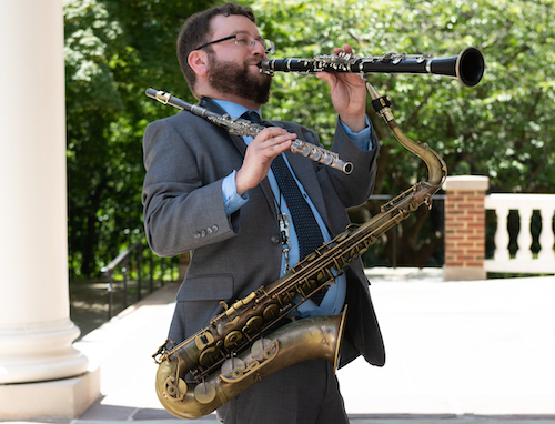 Seth Kibel, a Pikesville, Maryland, jazz musician and lecturer (Courtesy of Margot Shulmon)