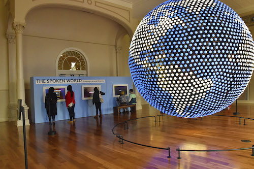Planet Word, a new museum led by founder and CEO Ann Friedman in the restored Franklin School in northwest D.C., blends technology with interactive exhibits. (Robert R. Roberts/The Washington Informer)