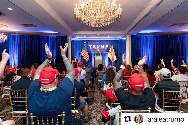 Courtesy of President Donald Trump via Instagram