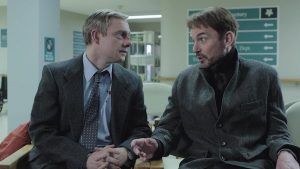 "Martin Freeman and Billy Bob Thornton in ""Fargo"" (Courtesy photo)"