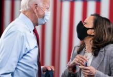 President-elect Joe Biden (left) and Vice President-elect Kamala Harris (Courtesy of Joe Biden via Twitter)
