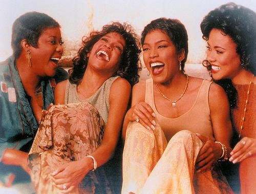 "From left: Loretta Devine, Whitney Houston, Angela Bassett and Lela Rochon star in ""Waiting to Exhale."" (Courtesy of 20th Century Fox)"