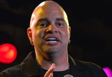 Photo of Comedian Sinbad Recovering from a Stroke