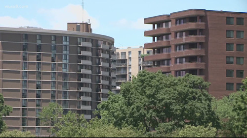 Virginia Gov. Ralph Northam announced a $50 million program to help residents who are facing eviction. Maryland Gov. Larry Hogan started a similar program. (Courtesy of WUSA-TV)