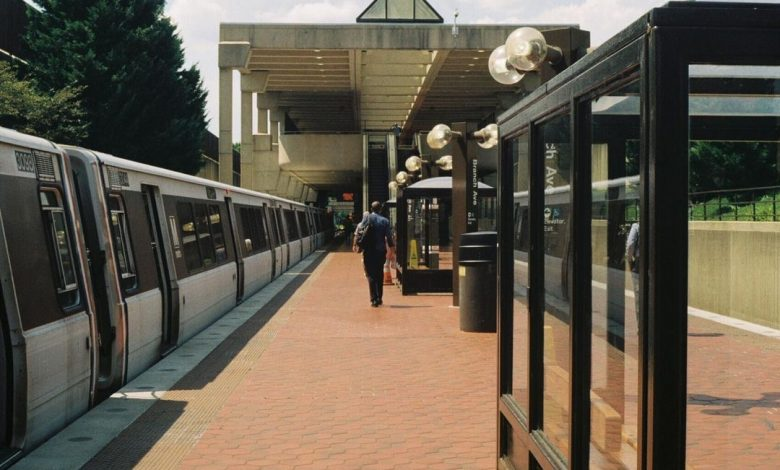 **FILE** The platform at Metro's Branch Avenue station is shown here. (Anthony TIlghman/The Washington Informer)