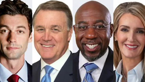 The four contenders for U.S. Senate in Georgia (Courtesy of American Kidney Fund)