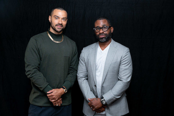 Actor and activist Jesse Williams (left) joins Bounce TV founder and Greenwood Chair Ryan Glover as an investor in the new digital banking platform. (Courtesy of Greenwood)