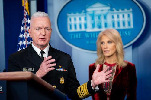 **FILE** Adm. Brett Giroir (Official White House Photo by Tia Dufour)
