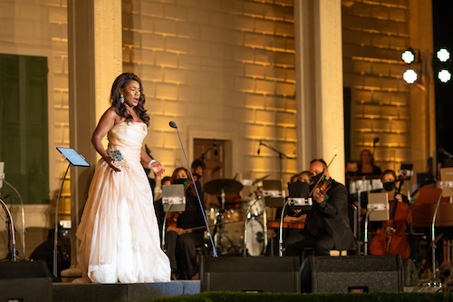 "Celebrated mezzo-soprano Denyce Graves performs on the New Year's Eve PBS special ""United in Song: Celebrating the Resilience of America."" (Kevin Parisi)"