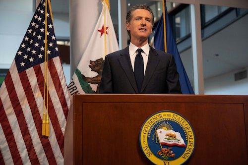 **FILE** California Gov. Gavin Newsom (Wikimedia Commons)