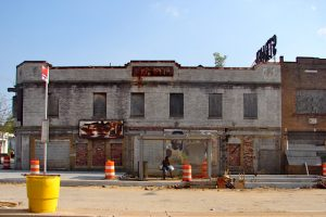 Restoration of the Strand Theater, a 1928 landmark, would be part of Far Northeast development, which is to include the proposed Deanwood Town Center. (WI file photo)