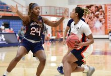Photo of HU Falls to Morgan State in Second Half of Back-to-Back
