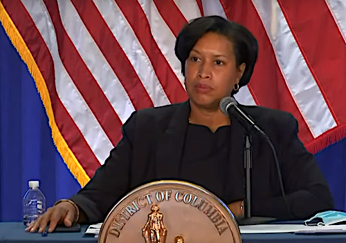 D.C. Mayor Muriel Bowser speaks during a Jan. 11 press conference on the city's response to the coronavirus pandemic.
