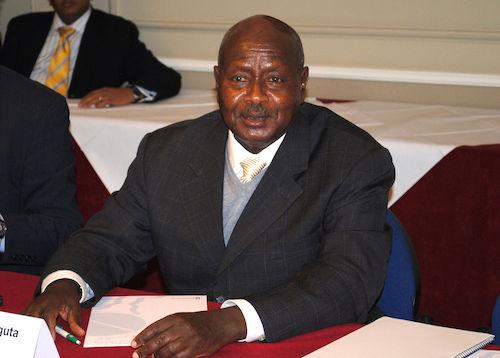 **FILE** Yoweri Museveni (Chatham House via Wikimedia Commons)