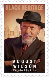 USPS will issue a stamp honoring playwright August Wilson as part of its Forever series. (Courtesy of USPS)
