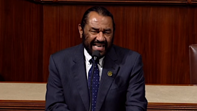 Photo of Dem Rep. Al Green Calls for U.S. Department of Reconciliation