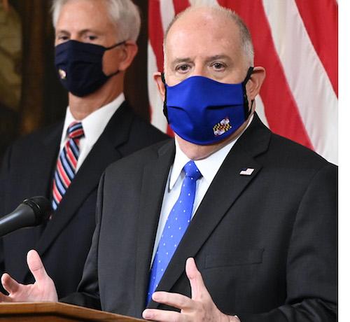 **FILE** Maryland Gov. Larry Hogan (Courtesy of the governer's office via Twitter)
