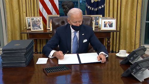 President Joe Biden (Courtesy of the White House)