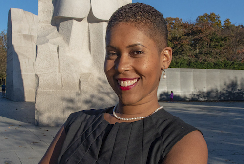 Dr. Jessica Smedley, clinical psychologist, helps adults in D.C. deal with stress. (Courtesy photo)