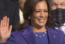 Photo of Kamala Harris Takes Her Place in U.S. History