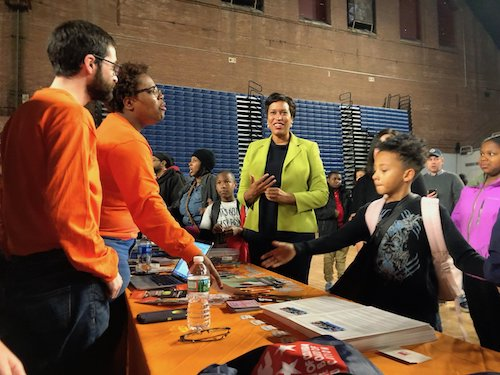 D.C. Mayor Muriel Bowser announced late last month a $10 million grant program for the District's public charter schools to support and prioritize the return of students to classrooms and contribute to the equitable resourcing for reopening efforts across the city. (DCPS photo)
