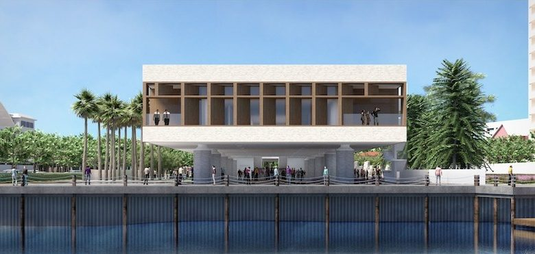 A rendering of the International African American Museum, scheduled to open in early 2022 in Charleston, S.C. (Courtesy of IAAM)