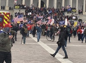 Photo of Capitol Hill Protest Generates Worldwide Press Coverage