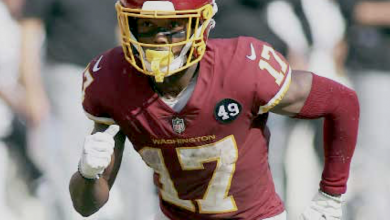 **FILE** Washington Football Team wide receiver Terry McLaurin (Daniel Kucin, Jr./The Washington Informer)