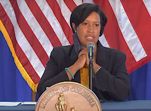 D.C. Mayor Muriel Bowser speaks during a Jan. 7 press conference at the Marion S. Barry Jr. Building in D.C.