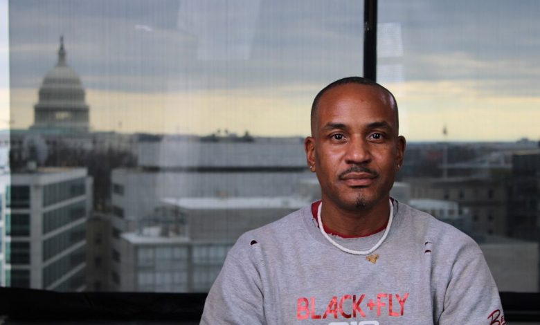 Michael McQuerry grew up in a tough Detroit neighborhood and saw violence firsthand when he moved to Washington. (Allison Itz/Zenger News)