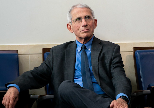 **FILE** Dr. Anthony Fauci (Official White House Photo by Tia Dufour)