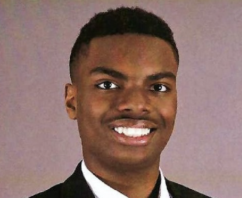 Logan Marshall Jackson has been named a candidate in the 2021 U.S. Presidential Scholars Program. (PGCPS photo)
