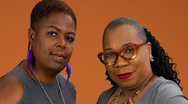 Karen McConnell-Jones (left) and Sharon Porter, co-founders of V&P LifeStyle Magazine