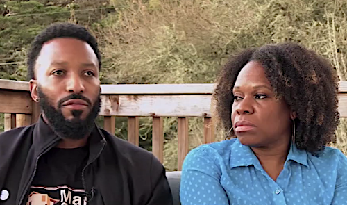 California couple Paul and Tenisha Tate Austin claims their home was undervalued by nearly $500,000 in a recent appraisal because of race. (Screen grab courtesy of KGO-TV)