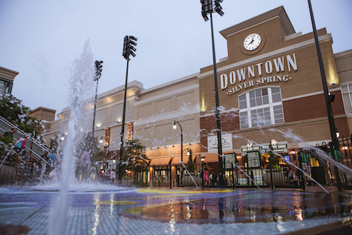 Downtown Silver Spring, Maryland (Courtesy of Livability)