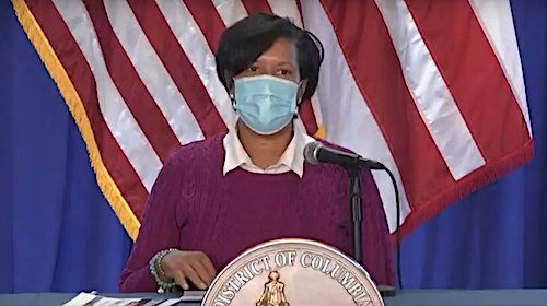 D.C. Mayor Muriel Bowser speaks during a Feb. 22 press conference on the city's response to the coronavirus pandemic.