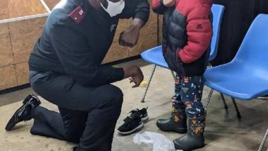Photo of Toyota Donates Boots, Socks to Needy Baltimore Families