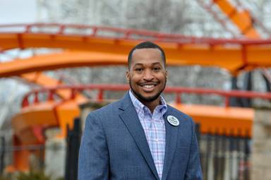 Richard Pretlow, new park president at Six Flags America and Hurricane Harbor waterpark in Bowie, Md. (Photo provided by Six Flags Entertainment Corporation)