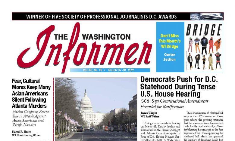 Photo of 3-25-2021 Informer Edition