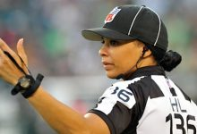 Photo of Maia Chaka Hired as NFL's First Black Woman Referee