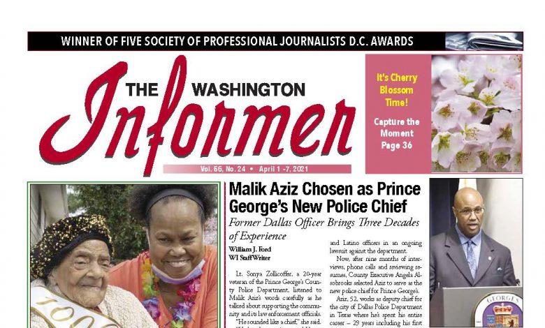 Photo of 4-1-2021 Informer Edition