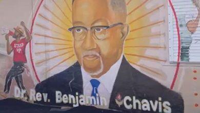 Photo of Miami Artist Unveils Mural Honoring NNPA President and Civil Rights Leader Benjamin F. Chavis Jr.