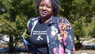 Qiana Johnson of Brandywine, Maryland, established Life After Justice in 2017. (Anthony Tilghman/The Washington Informer)