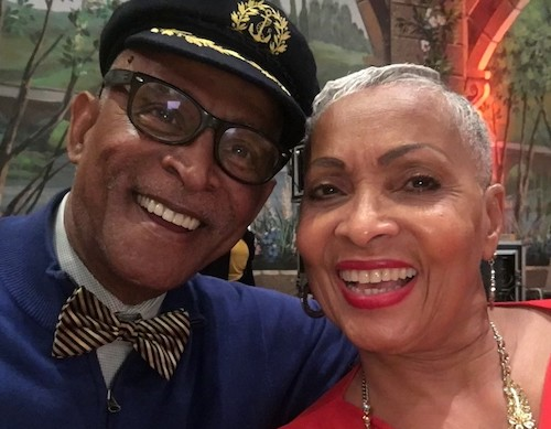 Roach Brown and his wife, Mertine, believe providing jobs for youth will help quell gun violence in the District. (Courtesy photo)