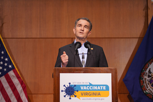 Virginia Gov. Ralph Northam (Courtesy of the governor's office)
