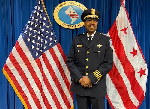 **FILE** Acting D.C. Police Chief Robert Contee (Courtesy of MPD via Twitter)