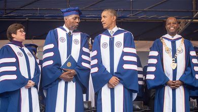 Photo of Howard University President Reflects on Life of Vernon Jordan Jr.
